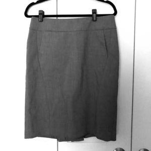 LOFT Pocket Pencil Skirt - Charcoal